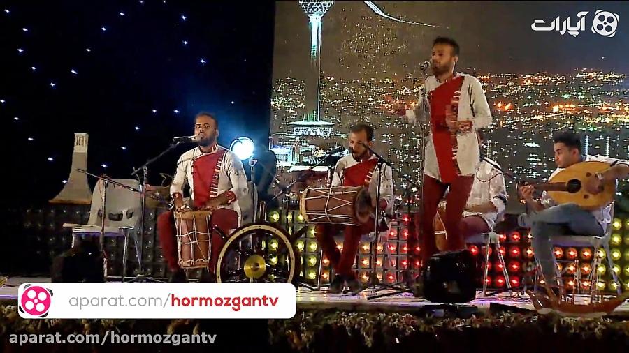 اجرای گروه موسیقی زاروگه هرمز در دومین شب فرهنگی هرمزگان