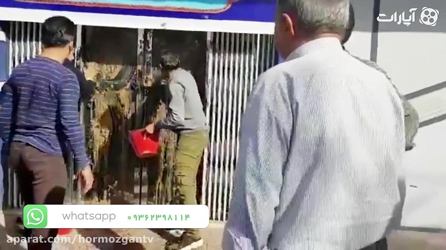 اغتشاش در محل انتخابات اتاق بازرگانی بندرعباس