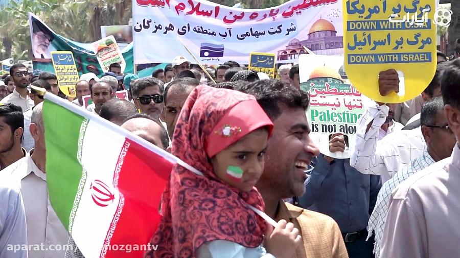 حضور پرشور مردم بندرعباس در راهپیمایی روز جهانی قدس