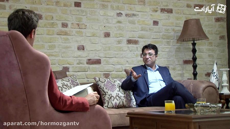 آنونس گفتگوی کیانوش جهانبخش با هرمزگان تی وی