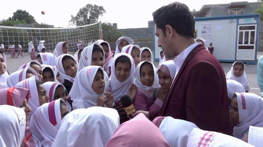 تحصیل۲۶۵دانش آموز در یک مدرسه تخریبی۵۰ساله!