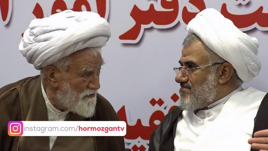 آئین تکریم و معارفه رئیس دفتر امور اهل سنت در استان هرمزگان