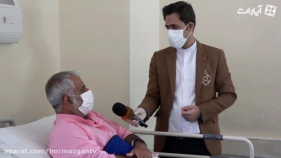بخش قرنطینه بیماران مشکوک به کرونا در بندرعباس / خط مقدم