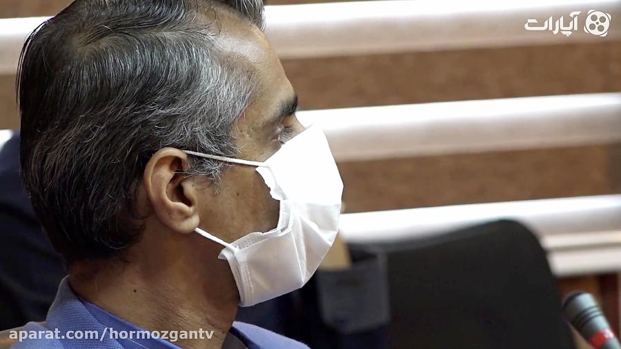 اهدای ماسک ویژه به پرستاران بیمارستان شهید محمدی بندرعباس